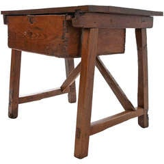 Portuguese 18th Century Wooden Work Table