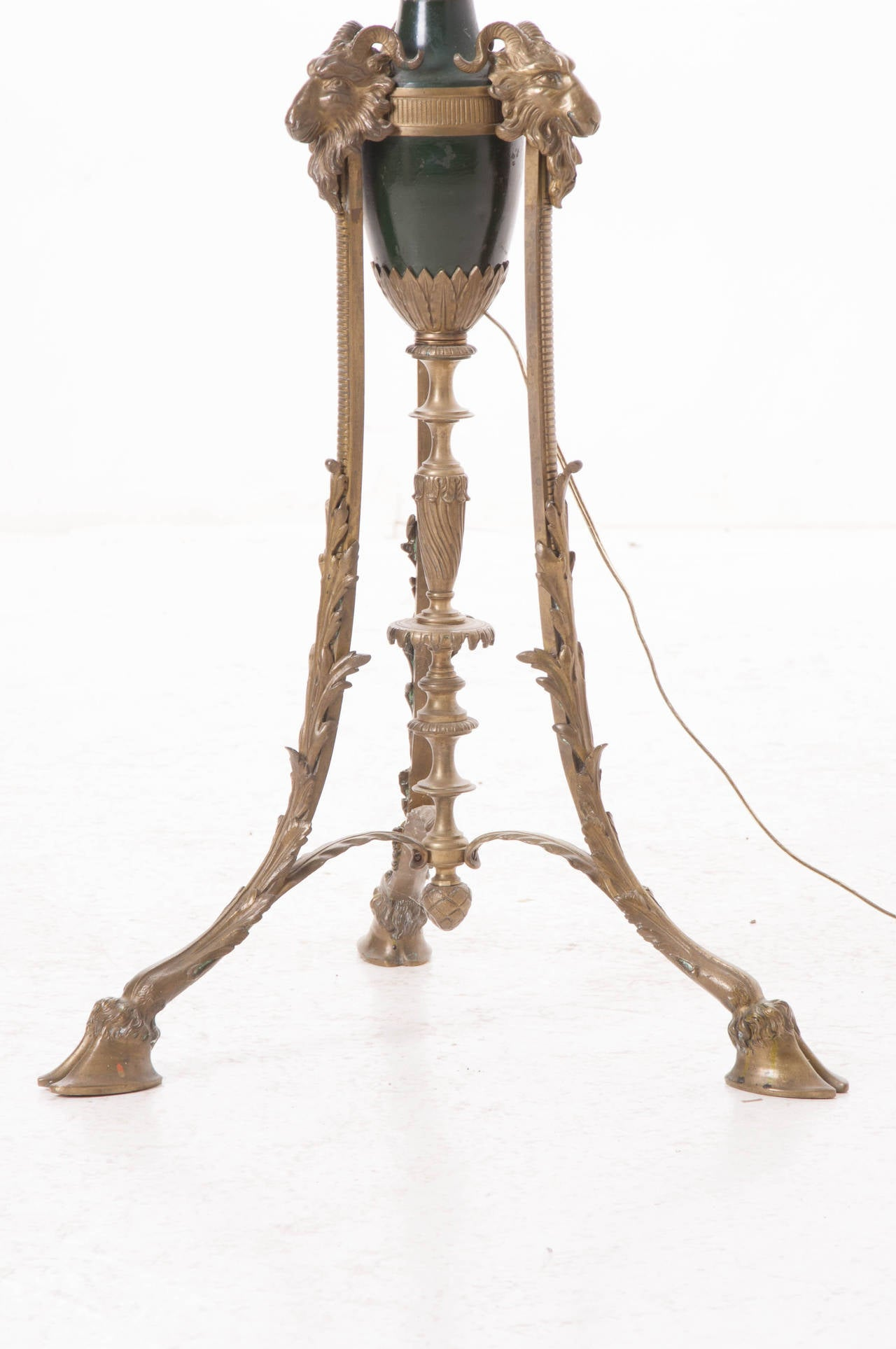 French 19th Century Victorian Floor Lamp 5