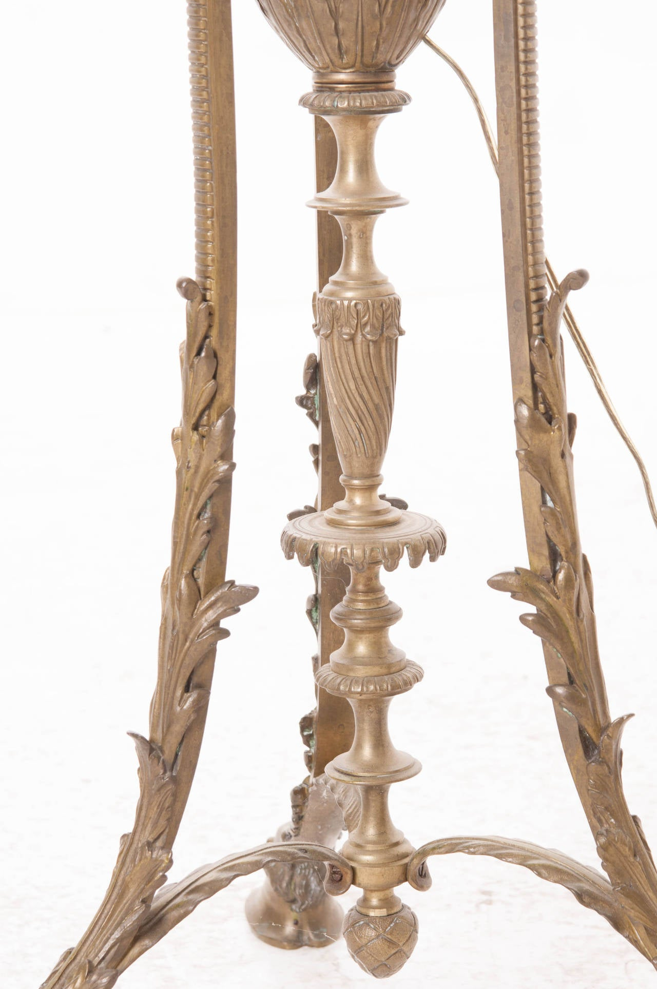 French 19th Century Victorian Floor Lamp 7
