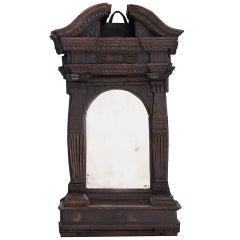 French Early 18th Century Church Altar Mirror