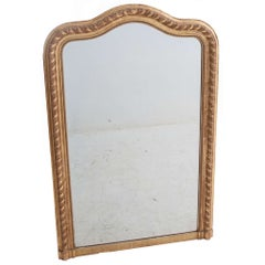 19th Century French Gold Gilt Mirror