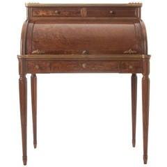 French Louis XVI Bird's-Eye Mahogany Lady's Desk