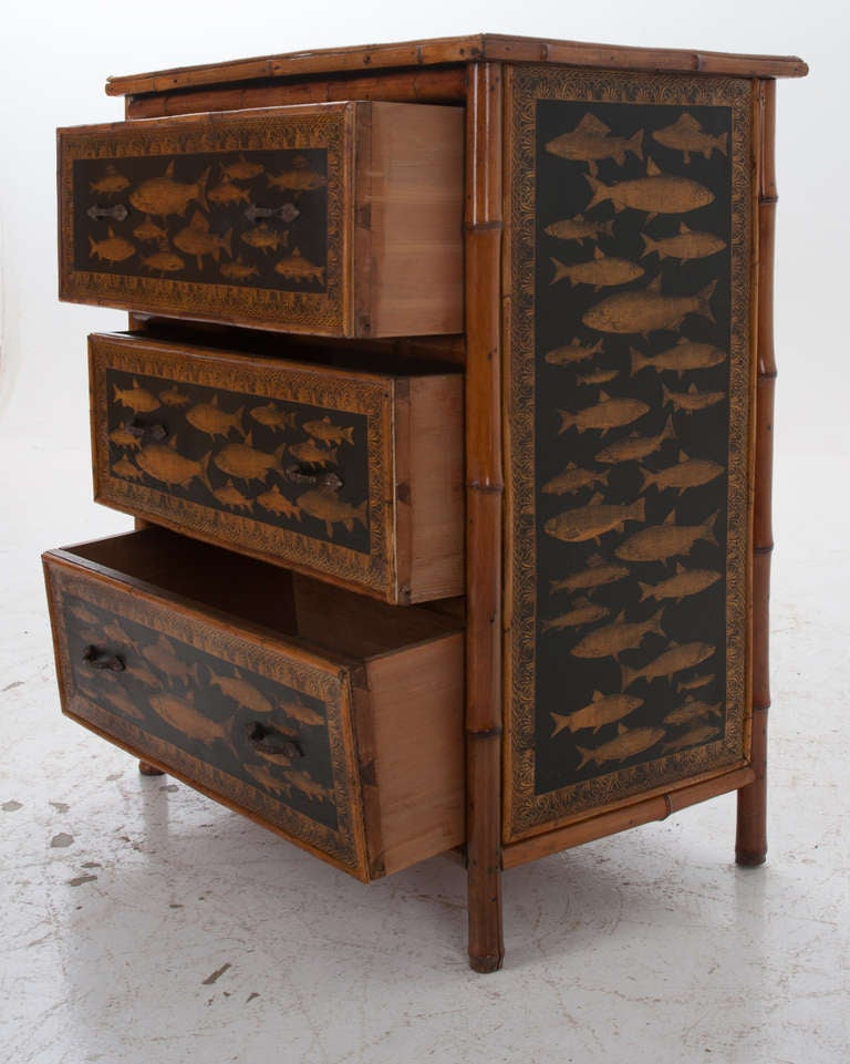 28 decoupage chest of drawers fish decoupage bamboo chest o