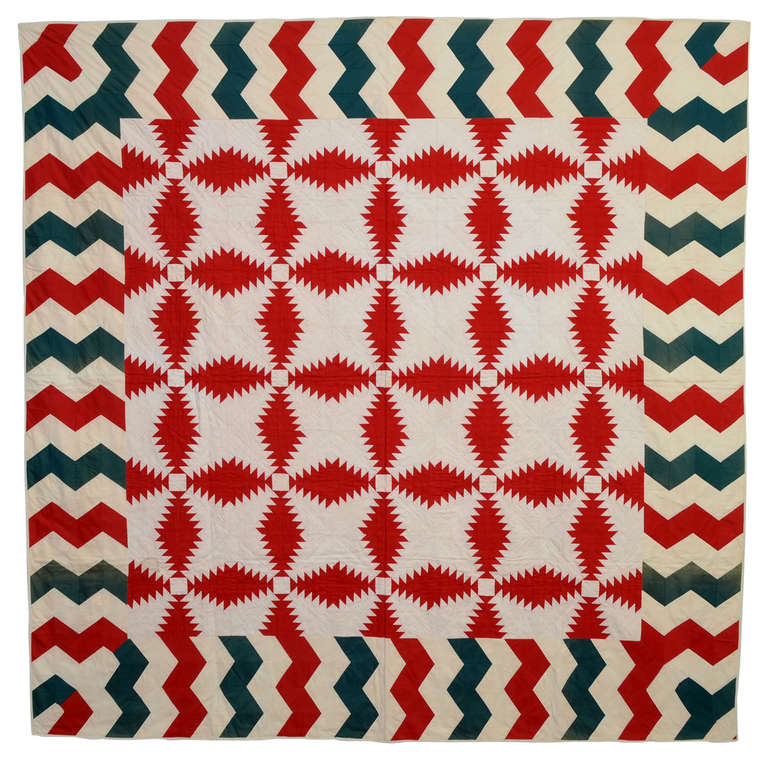 Windmill Blades Quilt For Sale