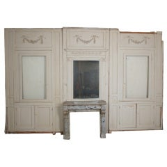French 19th Century Painted Boiserie