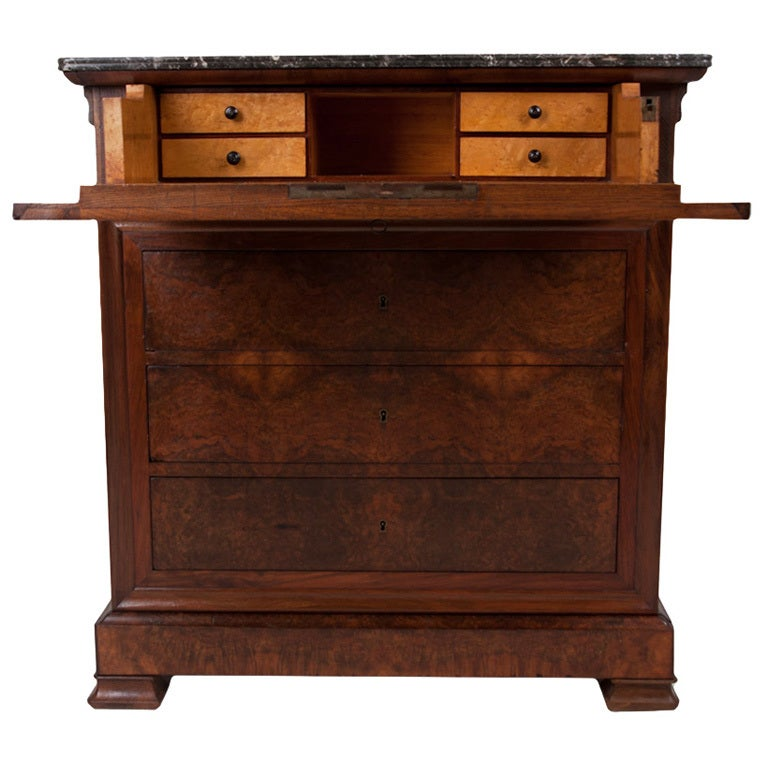French louis philippe commode secretary at 1stdibs - Commode secretaire louis philippe ...