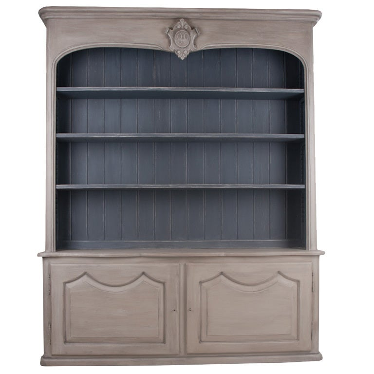 French style painted bibliotheque at 1stdibs - Bibliotheque 9 cases ...