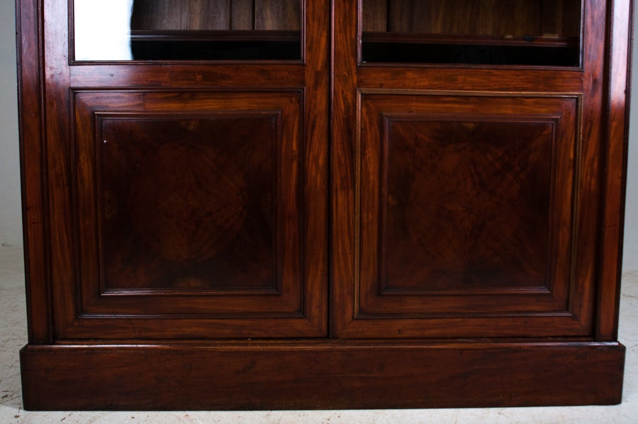 Restoration style mahogany bibliotheque at 1stdibs - Bibliotheque 4 cases ...