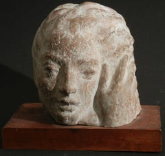 """Head and Hand,"" Important Sculpture by Cecere for Albert Einstein"