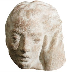 """Head and Hand,"" Important Sculpture by Gaetano Cecere"