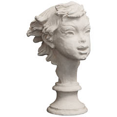 """""""Wild Youth,"""" Art Deco Sculpture by Fred Press"""
