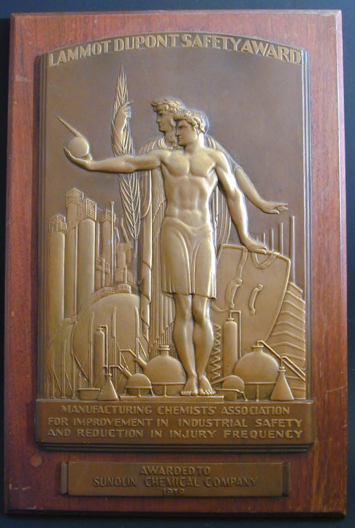 deco bas relief panel by rene chambellan at 1stdibs