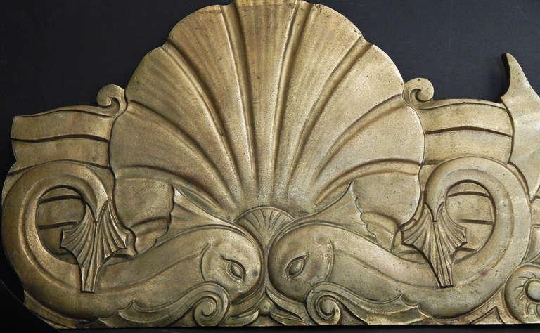 Frieze Remarkable Set Of Bronze Art Deco Bas Relief Panels Image 3
