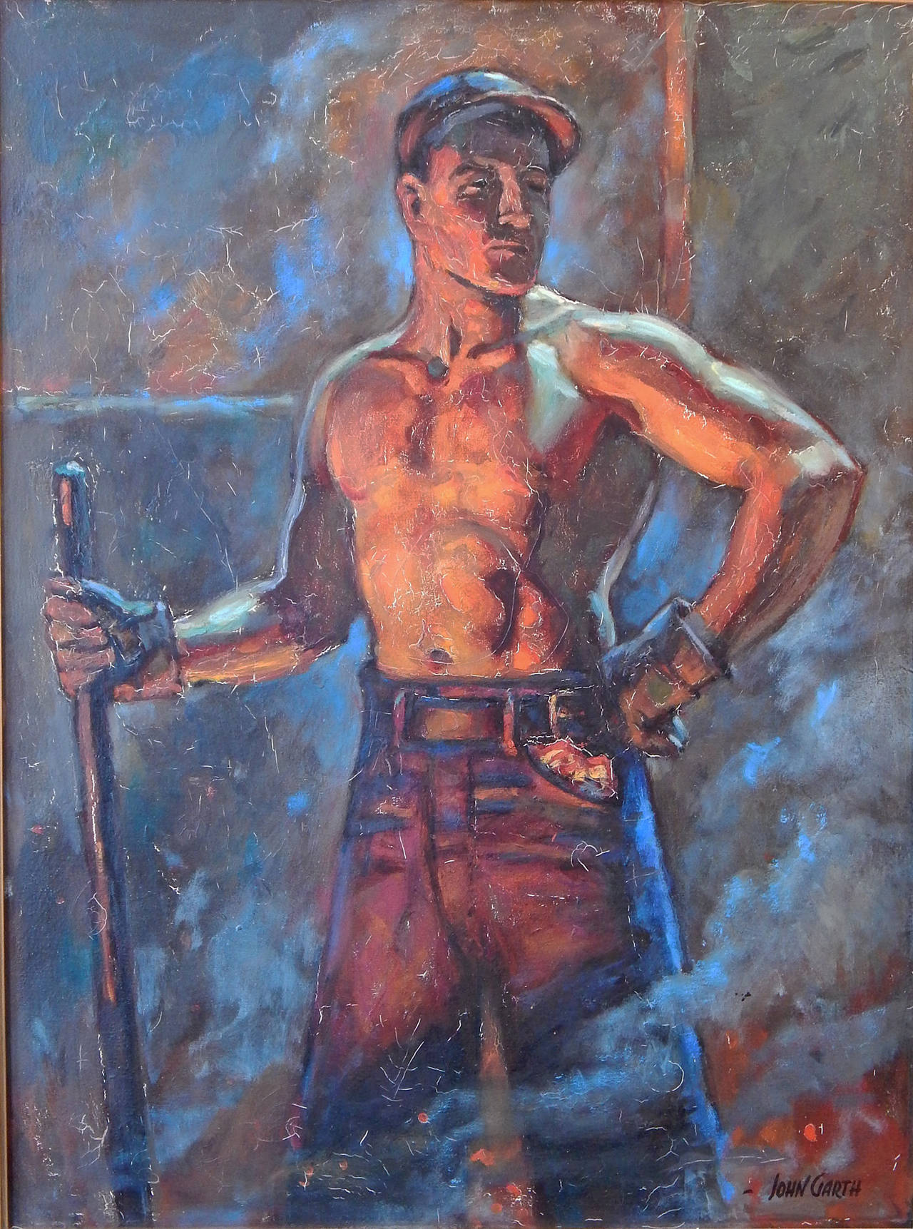 Quot The Ironworker Quot Paean To The American Industrial Worker