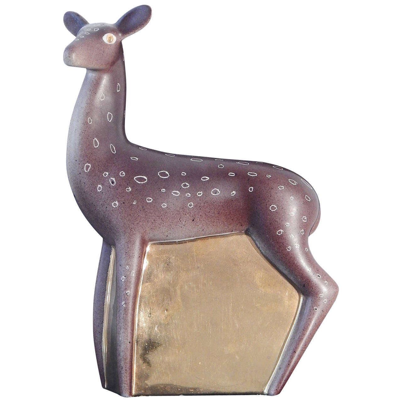 """Fawn"" Art Deco Sculpture by Waylande Gregory For Sale"