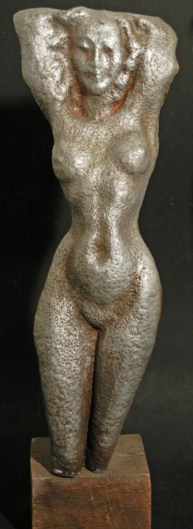 Male and Female Nude Sculptures by Waylande Gregory In Excellent Condition For Sale In Philadelphia, PA
