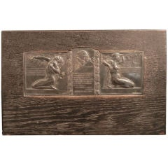 Secessionist Bas Relief Panel with Nudes, Czechoslovakia, 1910