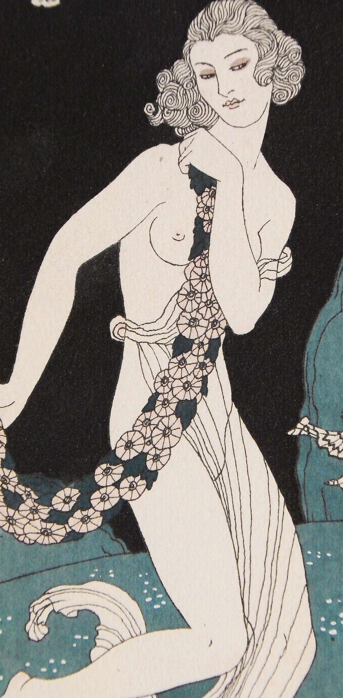 Considered one of the great masters and early progenitors of Art Deco, George Barbier produced a number of exquisite illustrations, costume designs, set designs and other artworks that were highly regarded in the 1910s and 1920s. Dubbed the