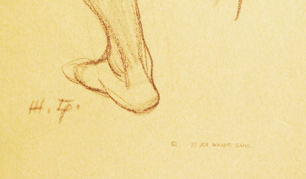 Study of Wrestling Male Nudes by Waano Gano 4
