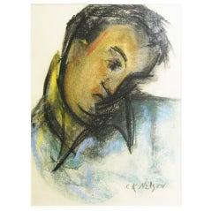 """""""Portrait of Glidden Parker,"""" by Katherine Nelson, 1940s"""