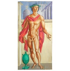 """""""Renaissance Prince,"""" brilliant painting by Raoul Pene du Bois"""