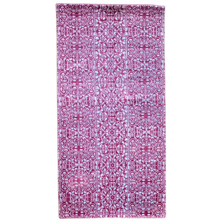 Silk and Cashmere Area Rug by Carini