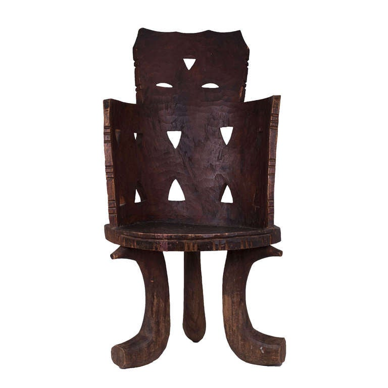 African Ethiopian Chair For Sale At 1stdibs