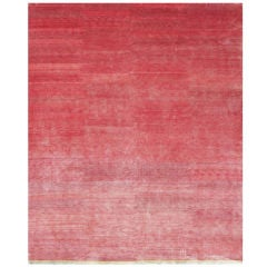 Pink Silk with End Panel