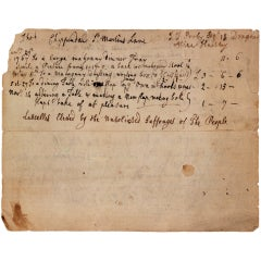 A Thomas Chippendale Document