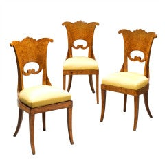 A Set of Six Russian Side Chairs