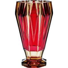 An Art Deco Val St Lambert Vase