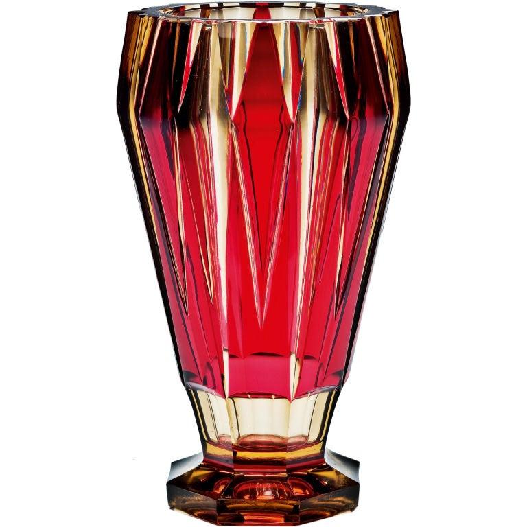 An art deco val st lambert vase at 1stdibs - Deco vintage belgique ...