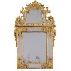 A Fine Regence Giltwood Pier Mirror