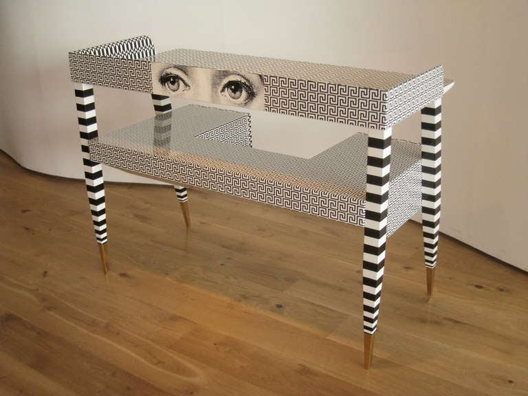 'Optique' Desk by Piero and Barnaba Fornasetti, 2009 For Sale 1