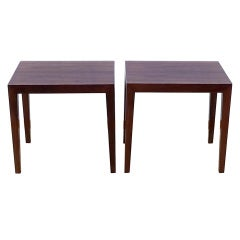 Pair of Danish Side Tables, for Haslev