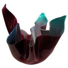 Venini Glass Vase, circa 1948