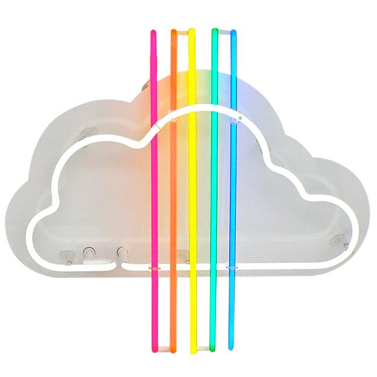 'Rainbow Jet' Neon Sculpture 1