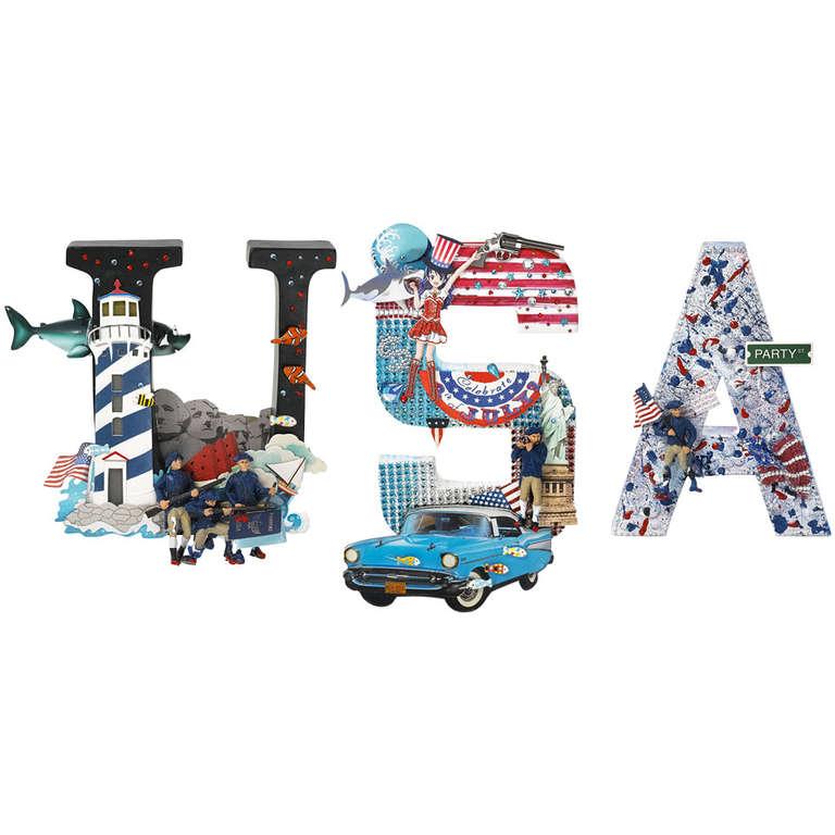 USA Word-Sculpture 1