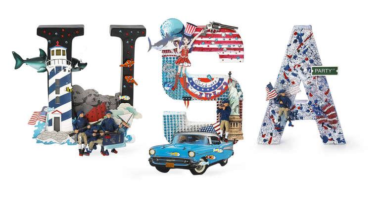 USA Word-Sculpture 2