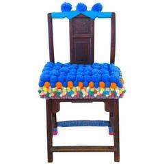 Ming Style Wood Chair 'Upscaled' by Shanghai Artist Gu Yeli