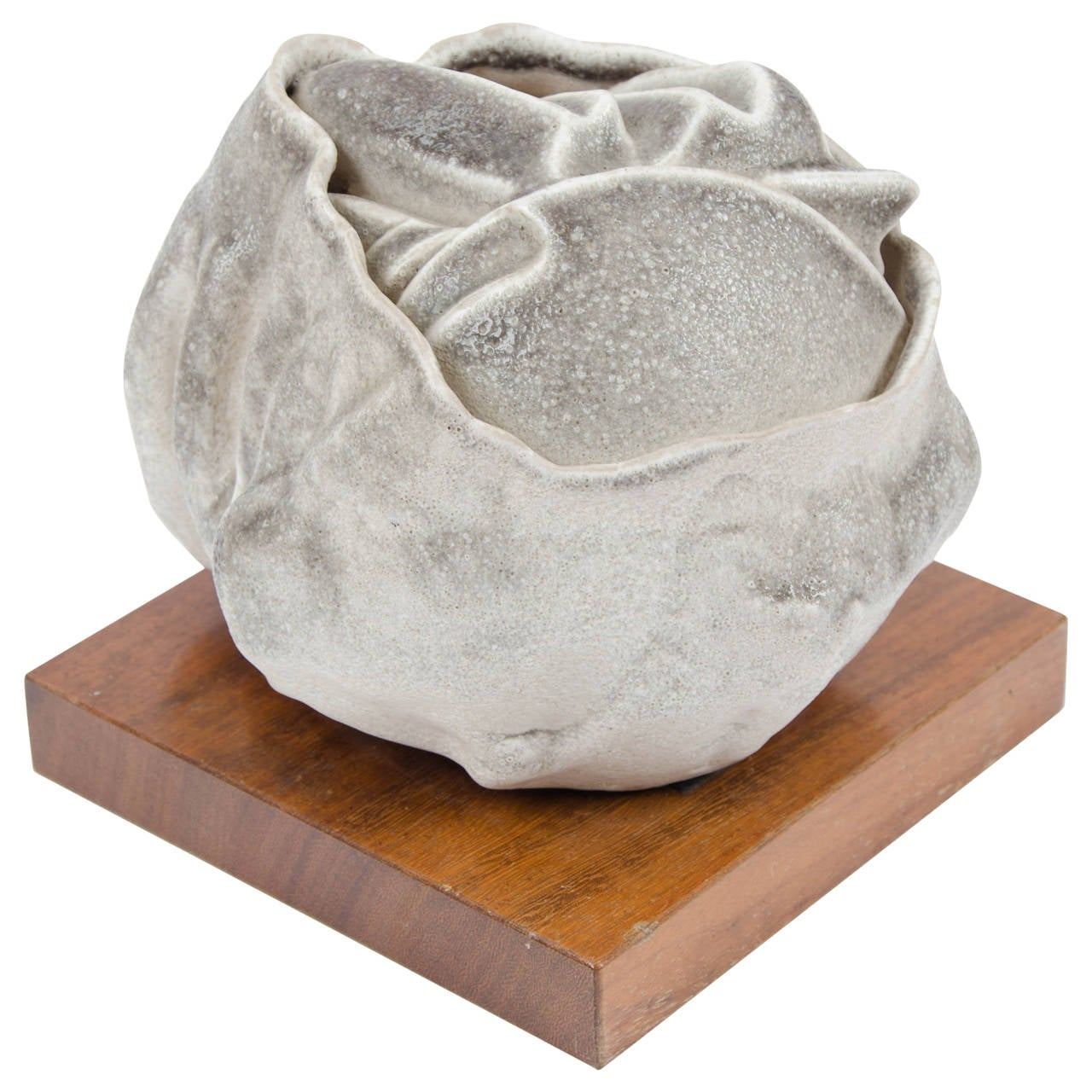 Stoneware Sculpture by Carlo Zauli