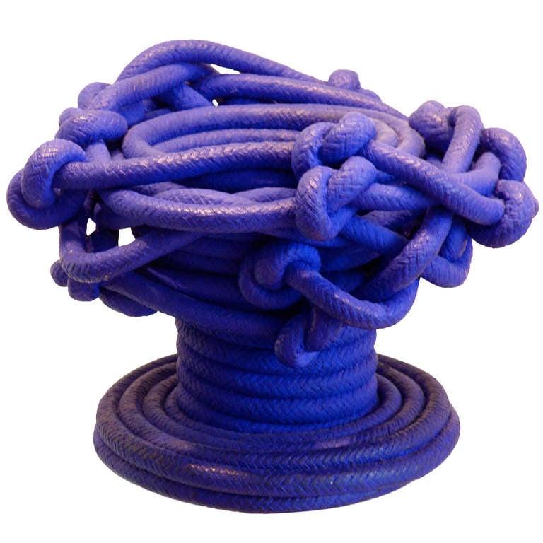 Rope Bowl Sculpture