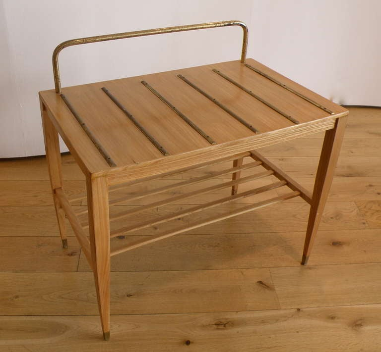 porte valise by gio ponti 1960s for sale at 1stdibs. Black Bedroom Furniture Sets. Home Design Ideas