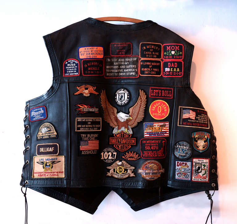 Best Way To Put Patches On Leather Vest
