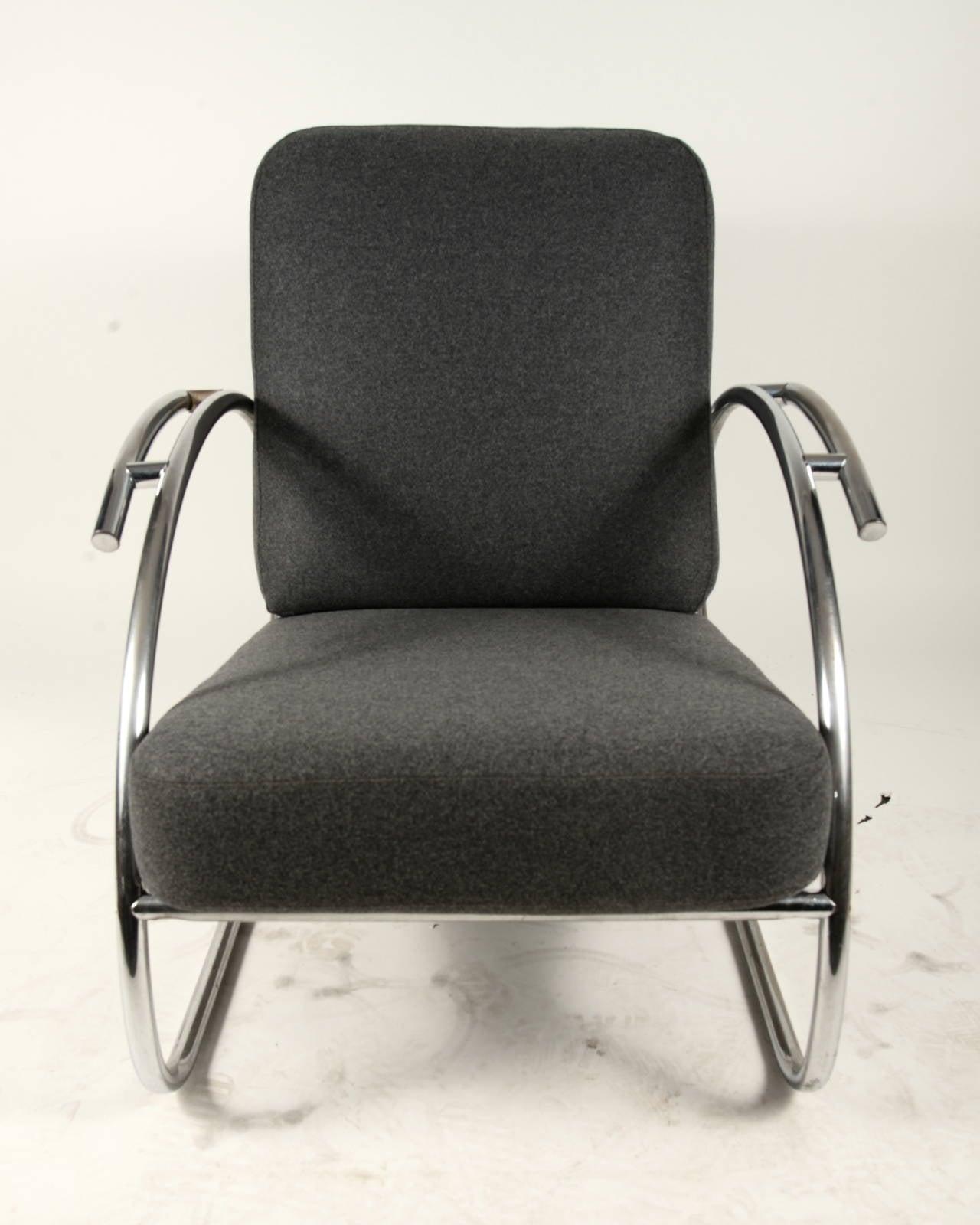 Pair of Bauhaus Chairs at 1stdibs
