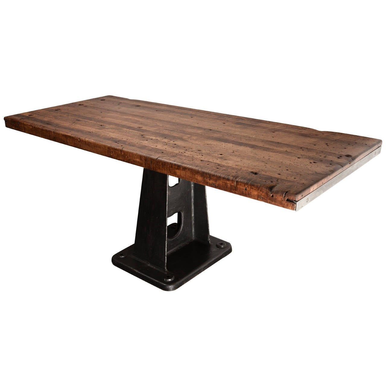 Industrial console table at 1stdibs for 1 1 table