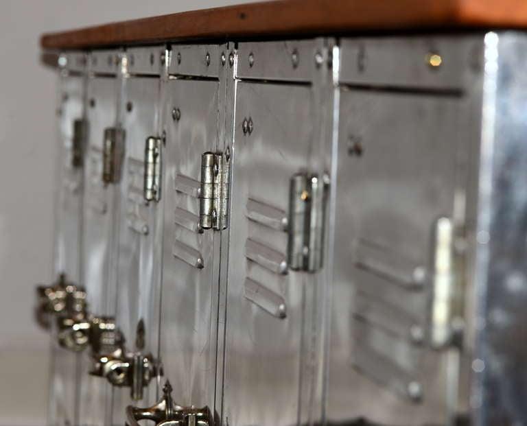 Vintage Polished Ship Locker Set At 1stdibs