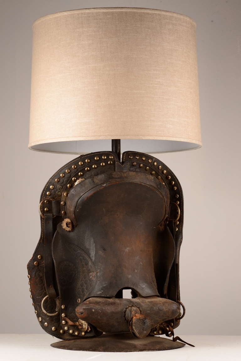 Saddle Table Lamp image 2