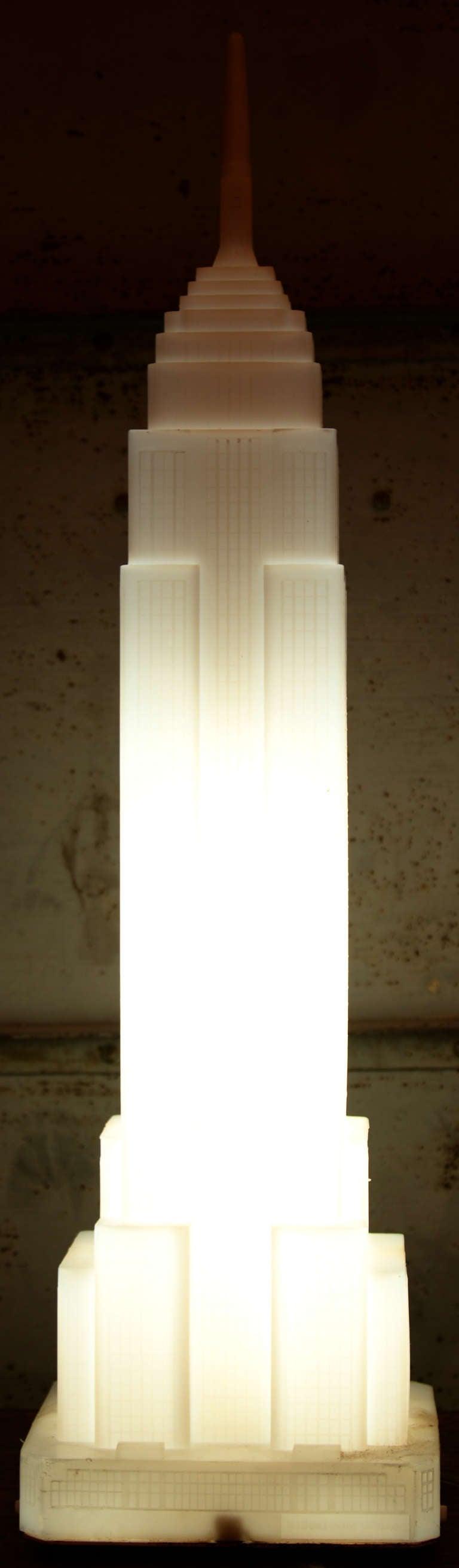 Empire State Building Floor Lamp