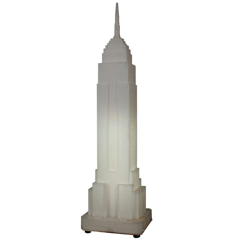 Empire State Building Table Lamp At 1stdibs